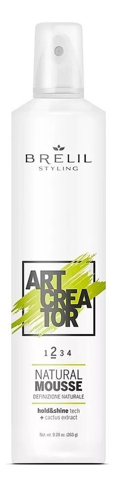 Купить Мусс для укладки волос с экстрактом кактуса Art Creator Natural Mousse 300мл, Brelil Professional