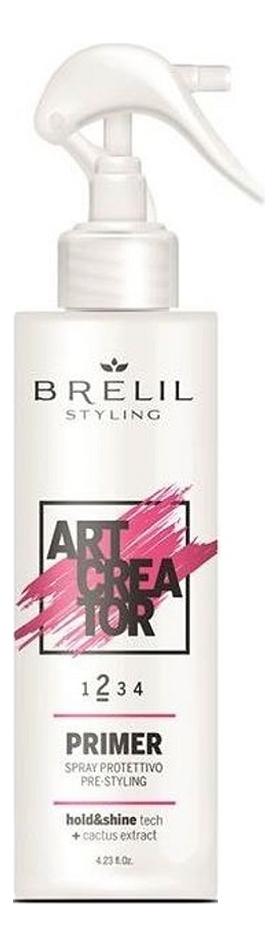 Купить Защитный спрей для укладки волос с экстрактом кактуса Art Creator Primer 150мл, Brelil Professional