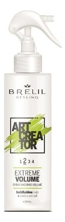 Купить Спрей для укладки волос с экстрактом кактуса Art Creator Extreme Volume 150мл, Brelil Professional
