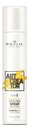 Спрей для укладки волос с экстрактом кактуса Art Creator Strong Spray 300мл, Brelil Professional  - Купить