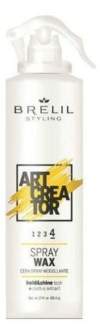 Купить Спрей-воск для укладки волос Art Creator Spray Wax 150мл, Brelil Professional