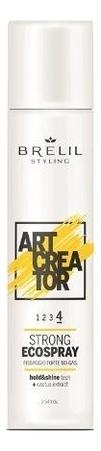 Купить Эко-спрей для укладки волос с экстрактом кактуса Art Creator Strong Ecospray: Спрей 300мл, Brelil Professional