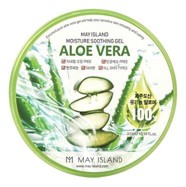 Многофункциональный гель с экстрактом алоэ вера Moisture Soothing Gel Aloe Vera 300мл гель для тела farmstay универсальный смягчающий с экстрактом алоэ aloe vera moisture soothing gel 300 мл
