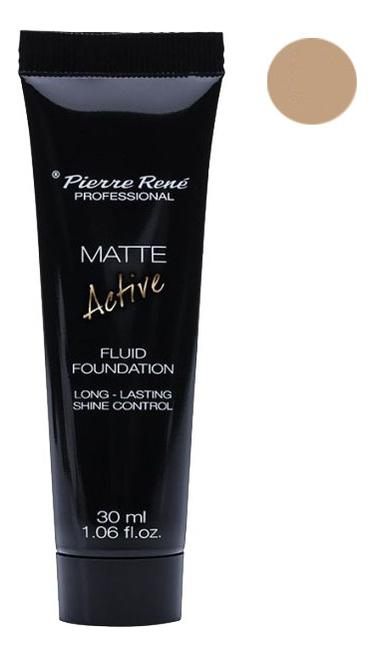 Купить Матирующая тональная основа Matte Active Fluid Foundation 30мл: NEW02 Porcelain, Pierre Rene