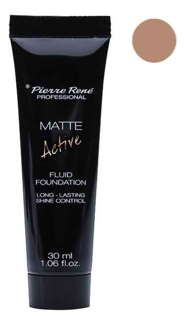 Матирующая тональная основа Matte Active Fluid Foundation 30мл: NEW03 Natural