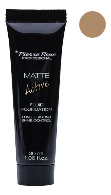 Купить Матирующая тональная основа Matte Active Fluid Foundation 30мл: NEW04 Beige, Pierre Rene