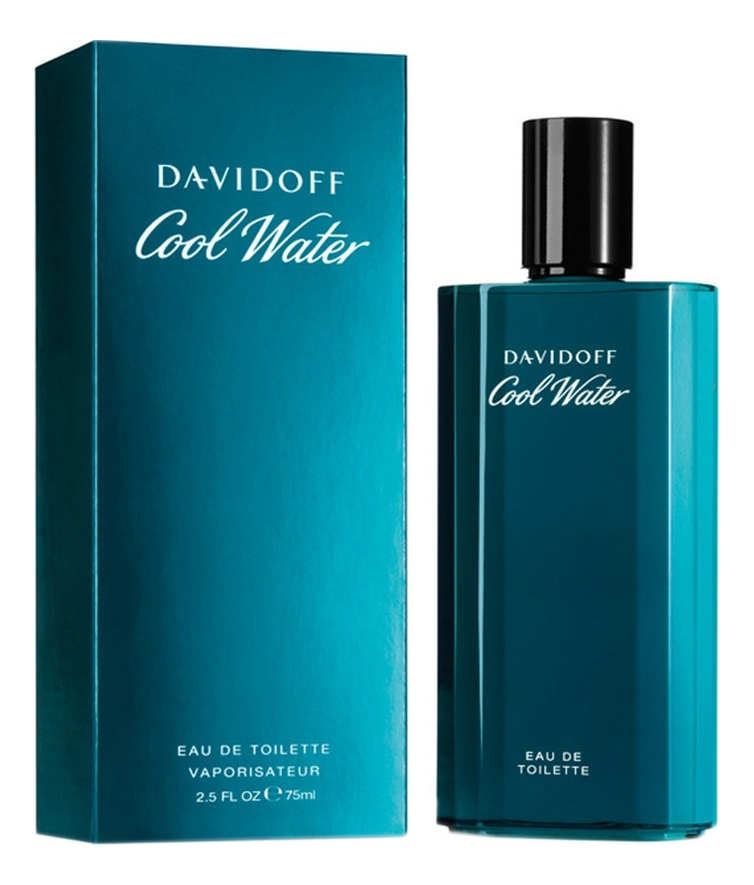 Cool Water for men: туалетная вода 75мл