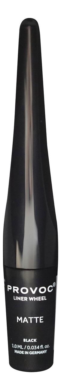 Фото - Роликовая подводка для глаз Liner Wheel 1мл: 01 Matte Black подводка graphik ink liner подводка фломастер для глаз 01 black