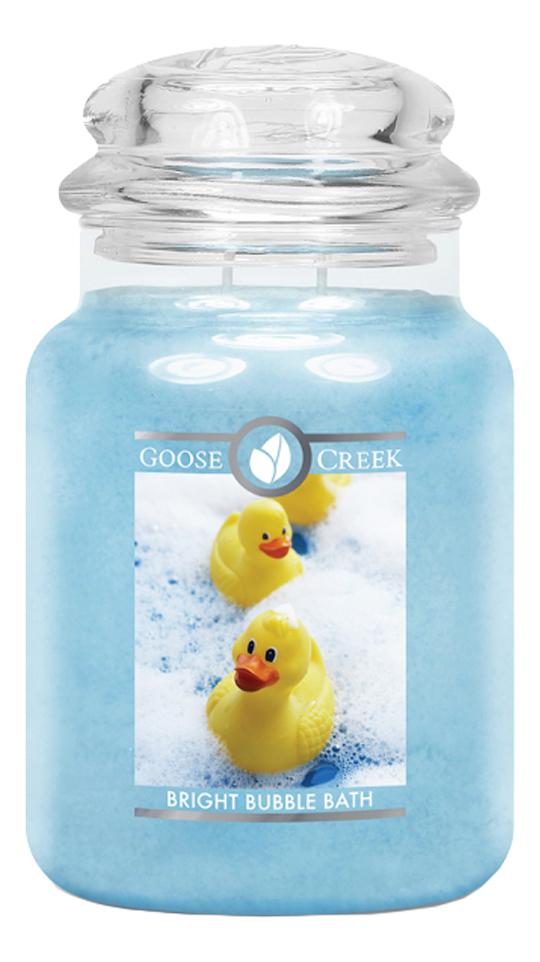 Купить Ароматическая свеча Bright Bubble Bath (Пена для ванны): свеча 680г, Goose Creek