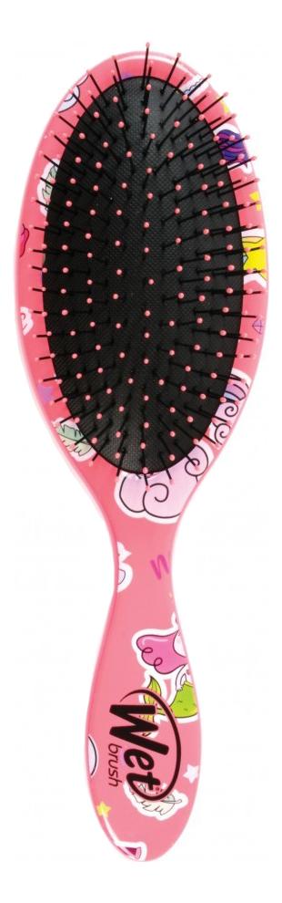Щетка для спутанных волос Detangler Brush Happy Hair Mermaids & Unicorn