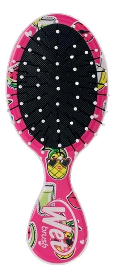 Купить Щетка для спутанных волос Detangler Brush Happy Hair Smiley Pineapple, Wet Brush