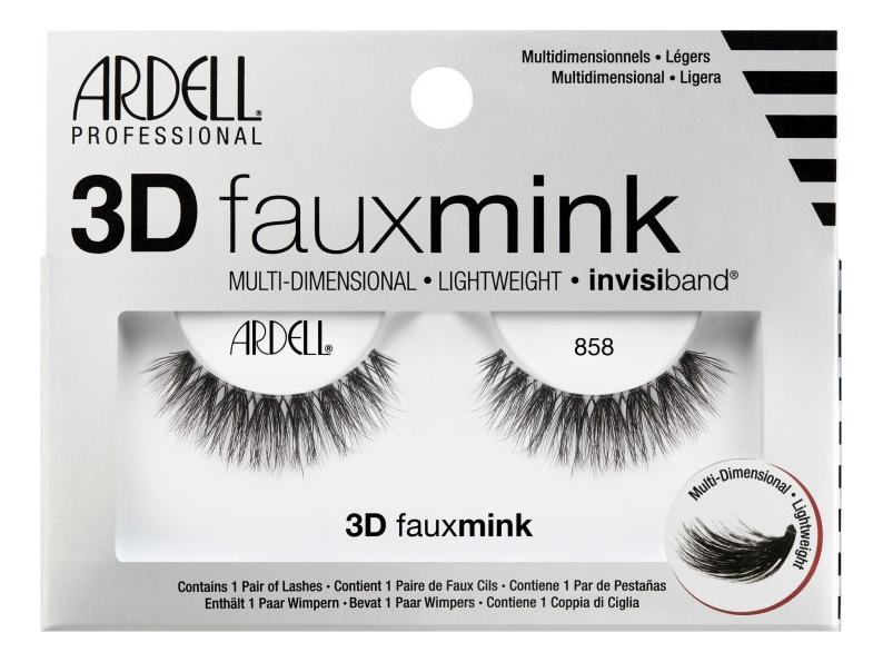 Накладные ресницы из норки Faux Mink (L): Ресницы 3D 858