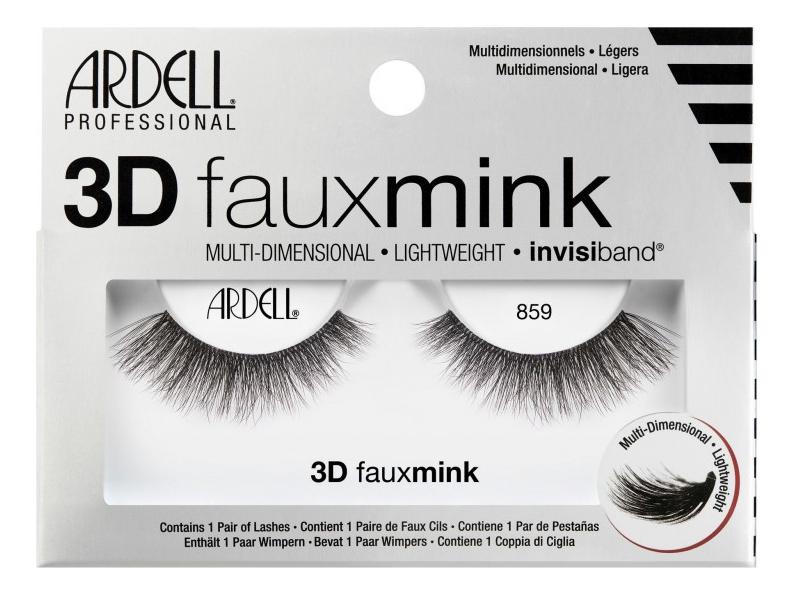 Накладные ресницы из норки Faux Mink (L): Ресницы 3D 859