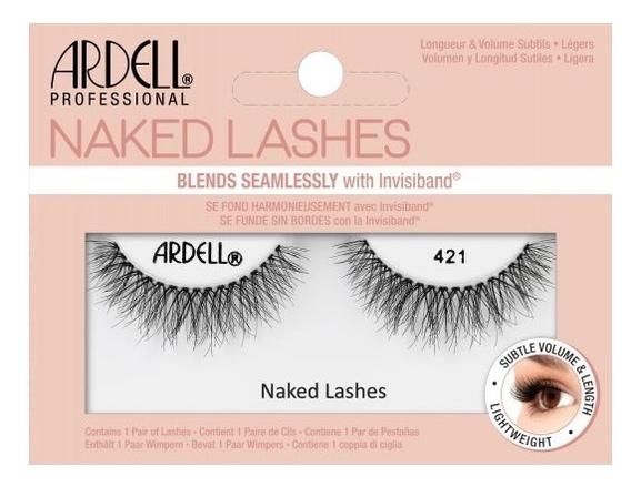 Накладные ресницы Naked Lashes: No 421 nyx professional makeup накладные ресницы wicked lashes bashful 08