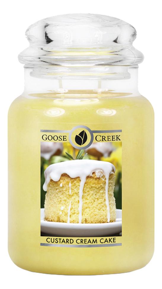 Ароматическая свеча Custard Cream Cake (Торт с заварным кремом): 680г