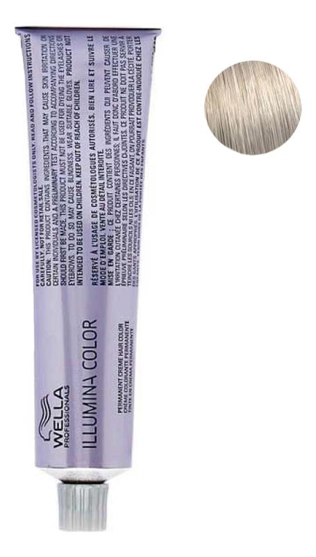 цена Стойкая крем-краска для волос Illumina Color 60мл: 10/81 Яркий блонд жемчужно-пепельный онлайн в 2017 году