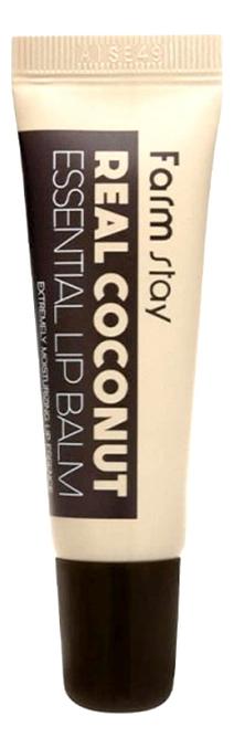 Фото - Бальзам для губ с маслом кокоса Real Coconut Essential Lip Balm 10мл бальзам для губ lip balm tube strawberry 10мл
