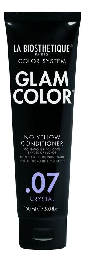 Кондиционер для окрашенных волос Glam Color No Yellow Conditioner .07 Crystal: Кондиционер 150мл фото