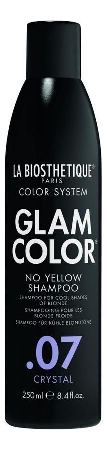 Шампунь для окрашенных волос Glam Color No Yellow Shampoo .07 Crystal: 250мл