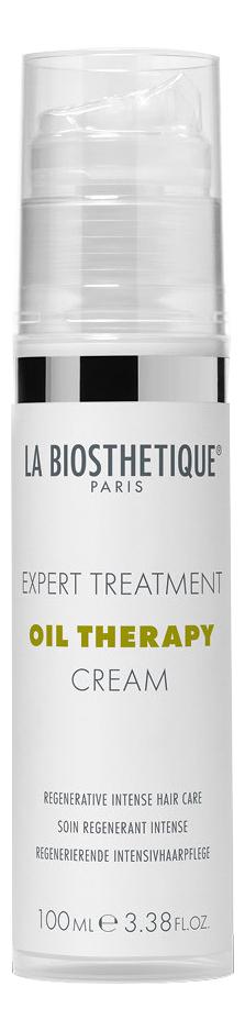 Купить Интенсивный восстанавливающий крем для волос Oil Therapy Cream 100мл, La Biosthetique