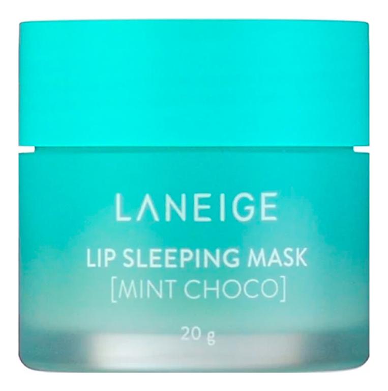Ночная маска для губ с ароматом мятного шоколада Lip Sleeping Mask Mint Choco 20г laneige sleeping mask маска для кожи вокруг глаз ночная