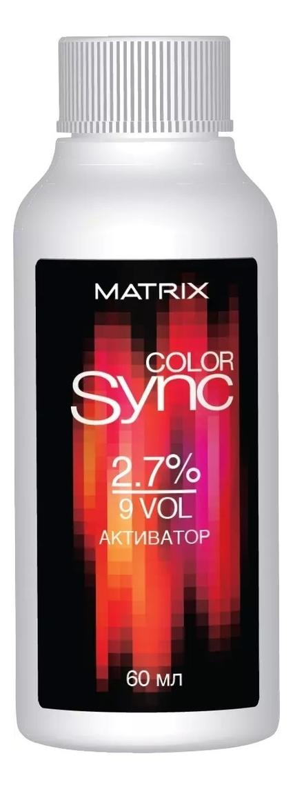 Активатор для безаммиачных красок 2,7% Color Sync: Активатор 60мл