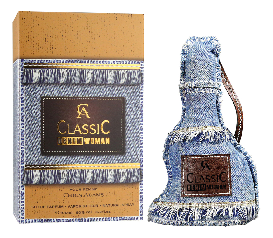 Chris Adams Ca Classic Denim Woman: парфюмерная вода 100мл