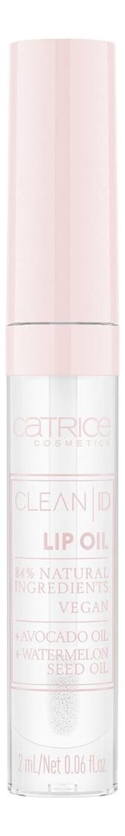 Масло для губ Clean ID Lip Oil 2мл: 010 Violet Rose catrice контур для губ lip glow lip pencil тон 010 прозрачный