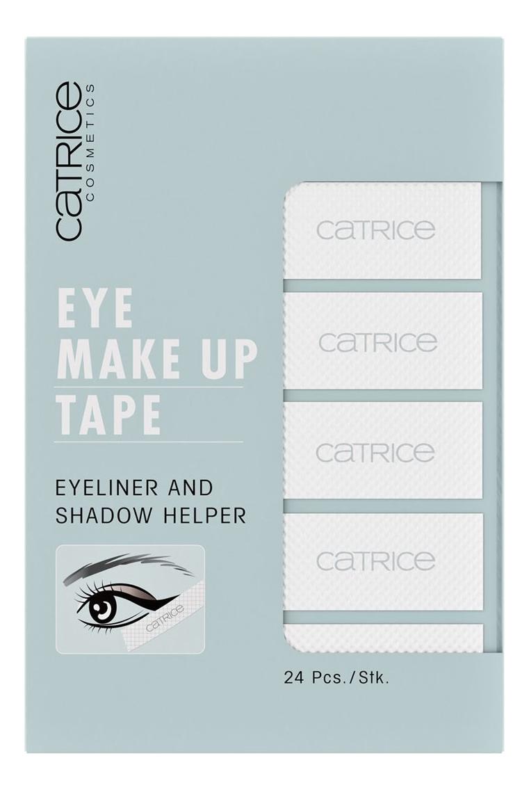 Фото - Трафарет для нанесения подводки Eye Make Up Tape трафарет для нанесения подводки eyeliner designer
