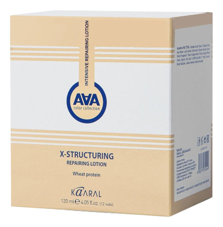Купить Восстанавливающий лосьон для волос с пшеничными протеинами X-Form Structuring 12*10мл, KAARAL