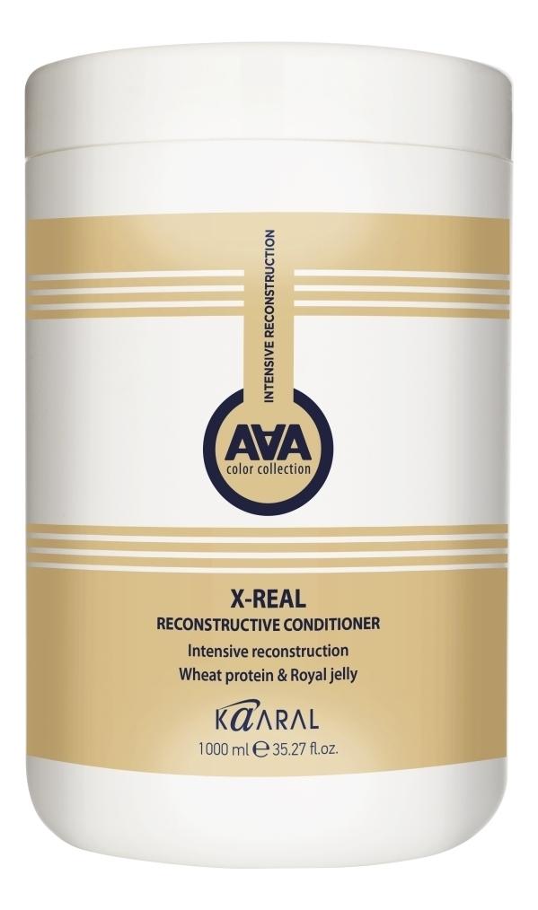 Купить Восстанавливающий кондиционер с пшеничными протеинами X-Form Real Nourishing Reconstructor: Кондиционер 1000мл, KAARAL