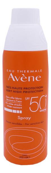 Солнцезащитный спрей для чувствительной кожи Peaux Sensibles Moderate Protection Spray SPF50 200мл