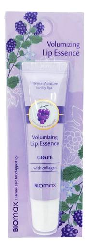 Эссенция для губ с экстрактом винограда Biomax Volumizing Lip Essence Grape 10мл недорого