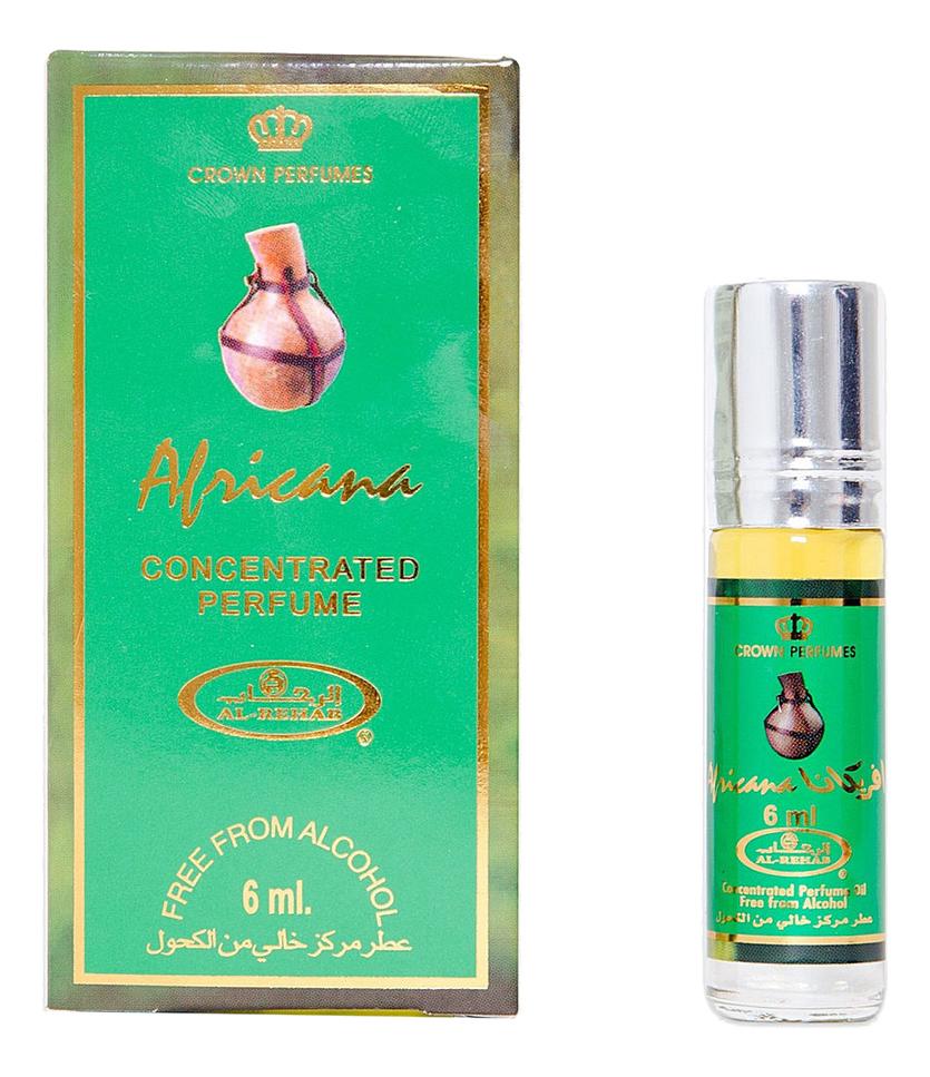Al-Rehab Africana: масляные духи 6мл масляные духи al rehab dehn al