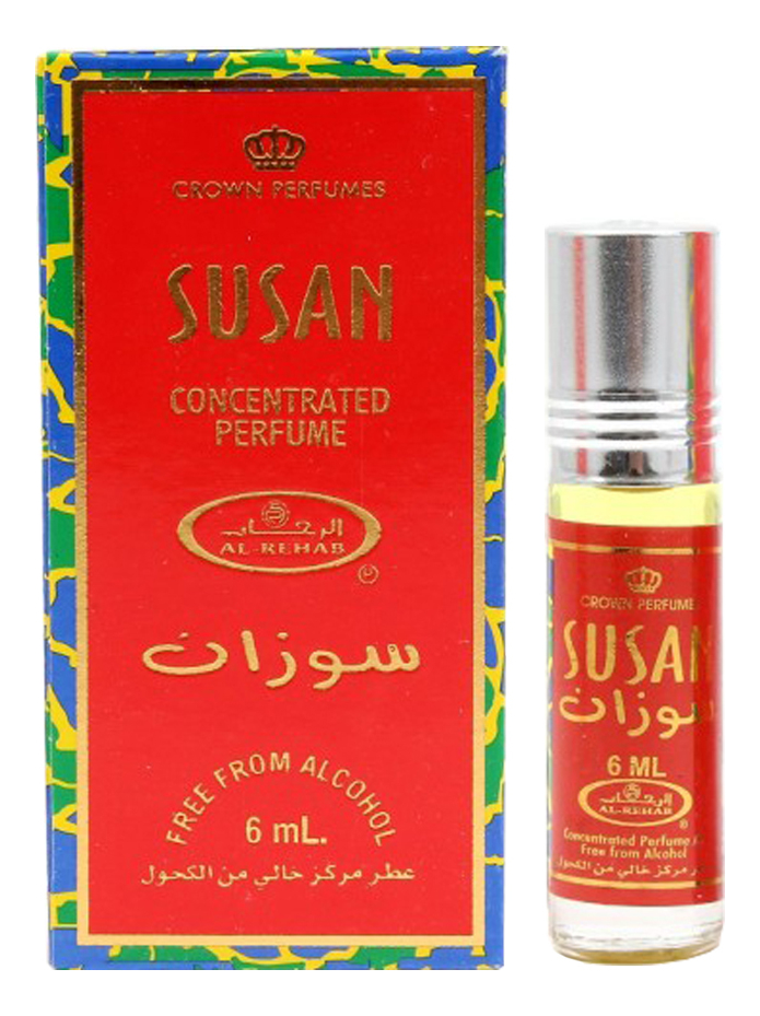 Фото - Al-Rehab Susan: масляные духи 6мл al rehab tooty musk масляные духи 6мл