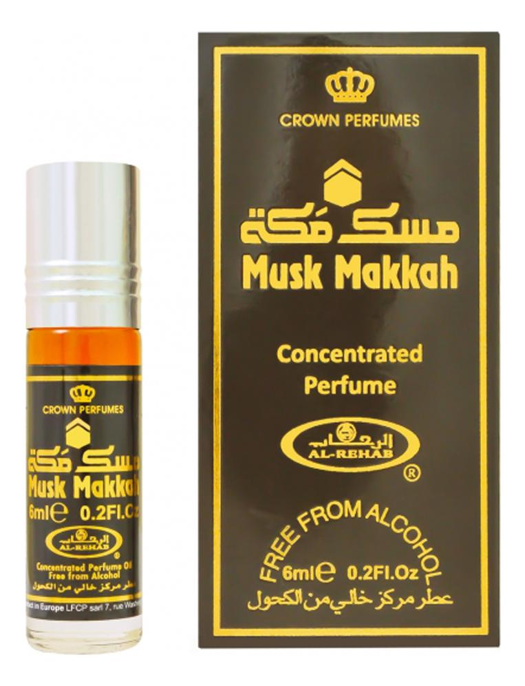 Фото - Al-Rehab Musk Makkah: масляные духи 6мл al rehab tooty musk масляные духи 6мл