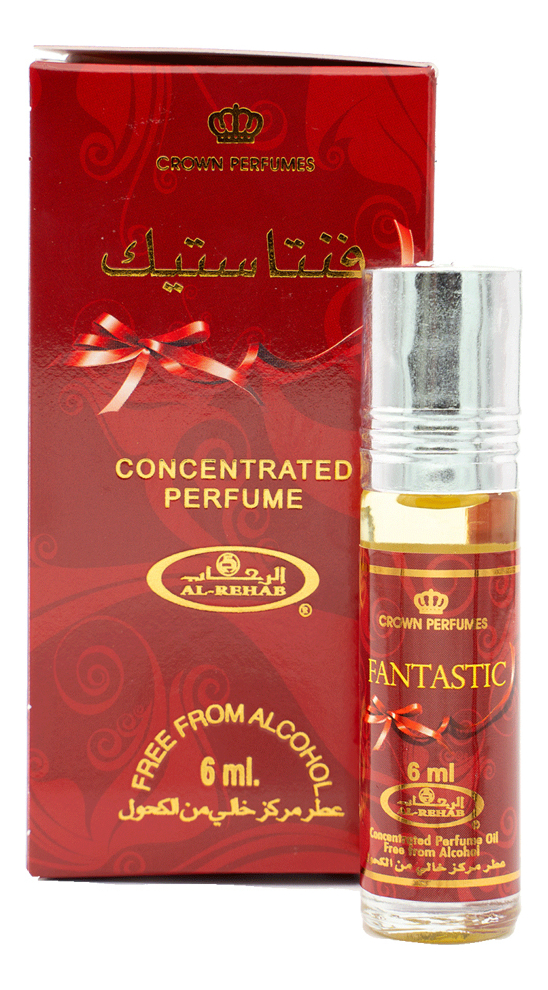 Al-Rehab Fantastic: масляные духи 6мл al rehab for men масляные духи 6мл