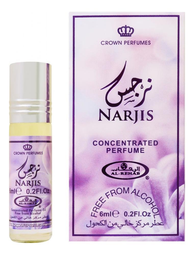 Фото - Al-Rehab Narjis: масляные духи 6мл al rehab tooty musk масляные духи 6мл