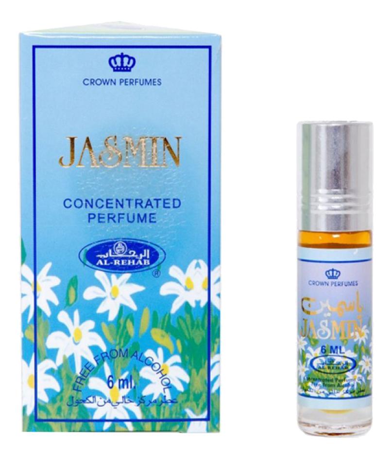 Al-Rehab Jasmin: масляные духи 6мл масляные духи al rehab dehn al