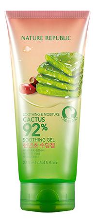 Купить Универсальный гель с экстрактом кактуса Soothing & Moisture Cactus 92% Soothing Gel 250мл, Универсальный гель с экстрактом кактуса Soothing & Moisture Cactus 92% Soothing Gel 250мл, Nature Republic