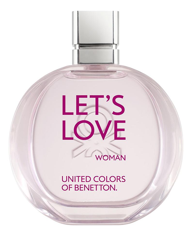 Benetton Let s Love: туалетная вода 100мл