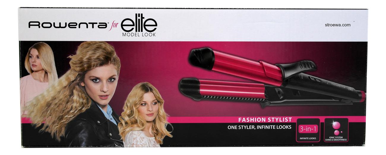 Мультистайлер для волос For Elite 3 in 1 Fashion Stylist CF4512F0
