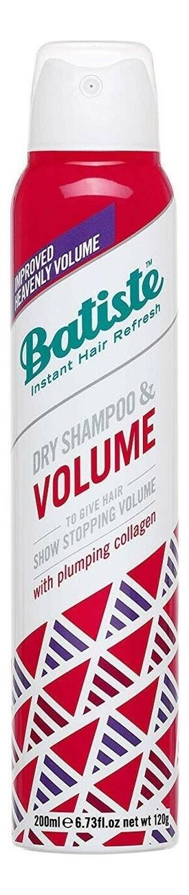 Купить Сухой шампунь для волос Невидимая формула Dry Shampoo & Volume 200мл, Сухой шампунь для волос Невидимая формула Dry Shampoo & Volume 200мл, Batiste