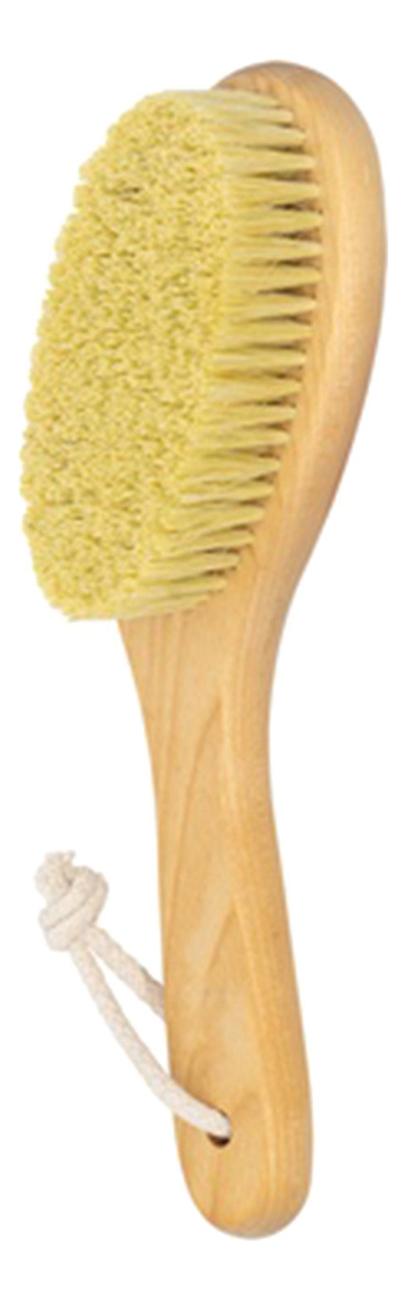 Щетка антицеллюлитная с короткой ручкой (щетина тампико) антицеллюлитная грязь гуам