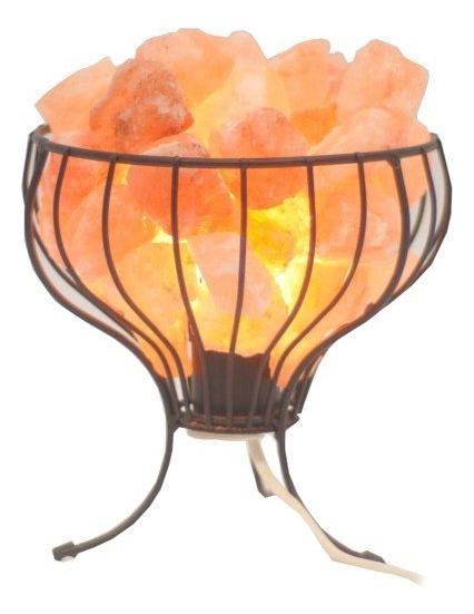 Солевая лампа Корзина с кристаллами ZET-141 солевая лампа usb пирамида zet 127