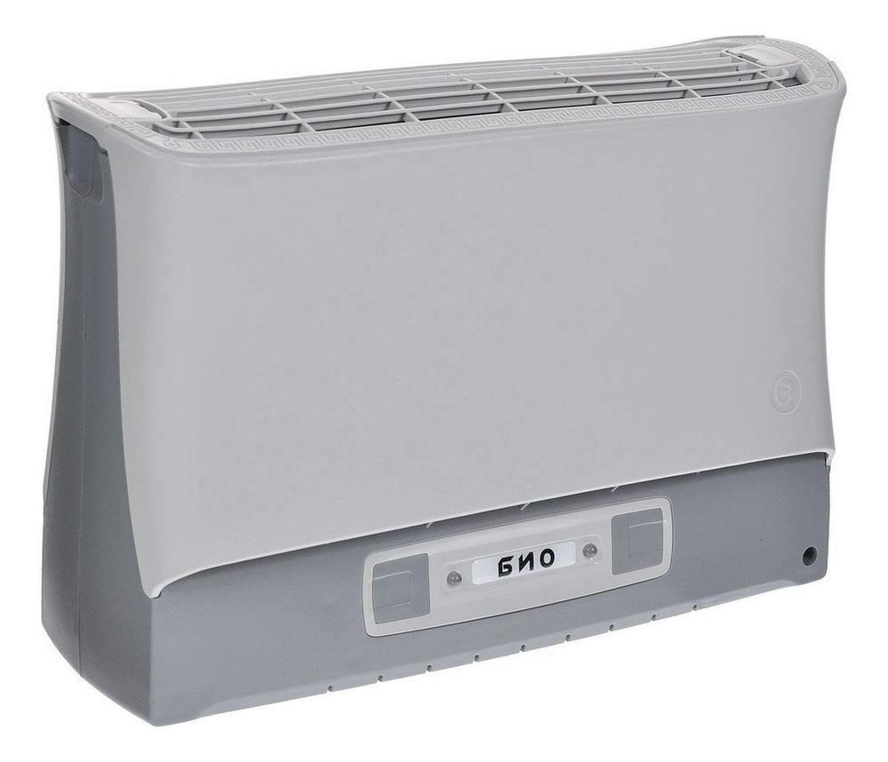 Электронный воздухоочиститель Био: Воздухоочиститель серый