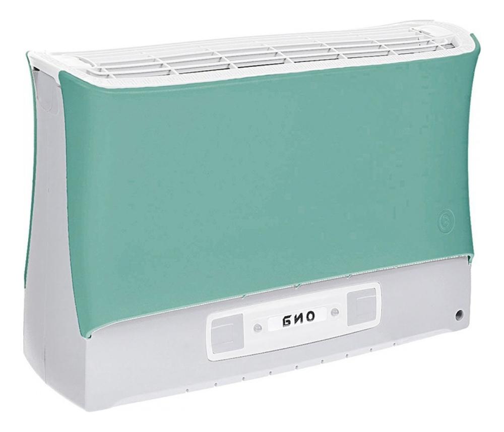 Электронный воздухоочиститель Био: Воздухоочиститель зеленый