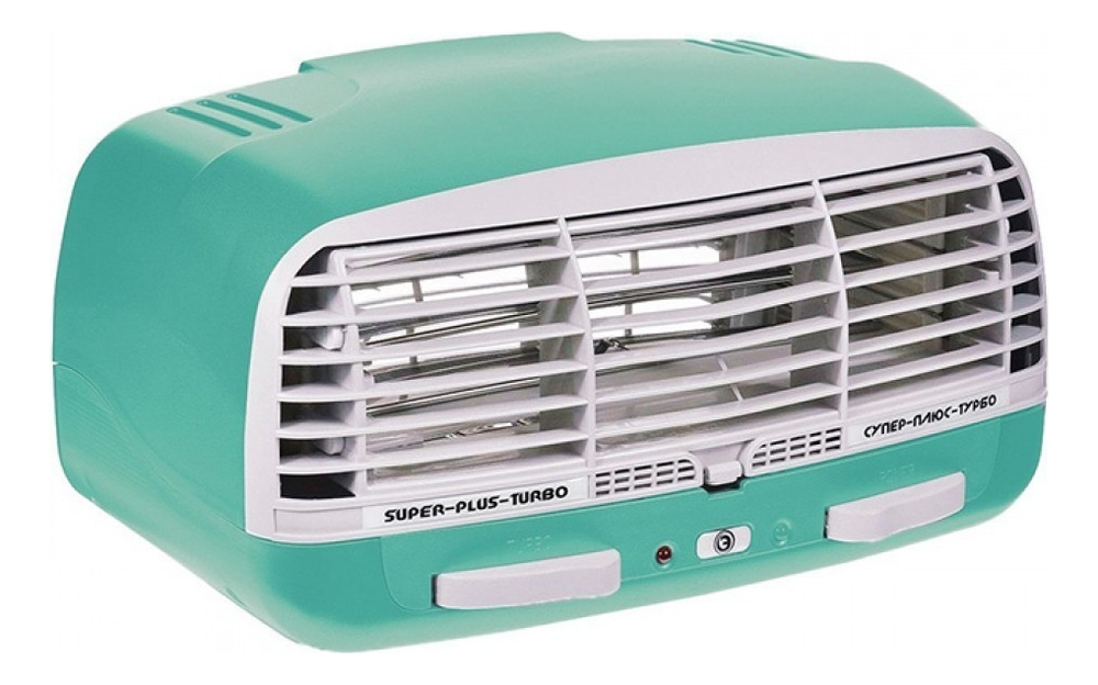Электронный воздухоочиститель Турбо: Воздухоочиститель зеленый