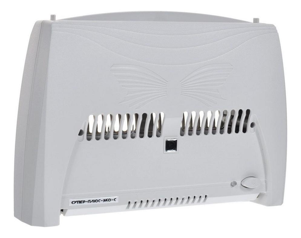 Электронный воздухоочиститель Эко-С: Воздухоочиститель серый