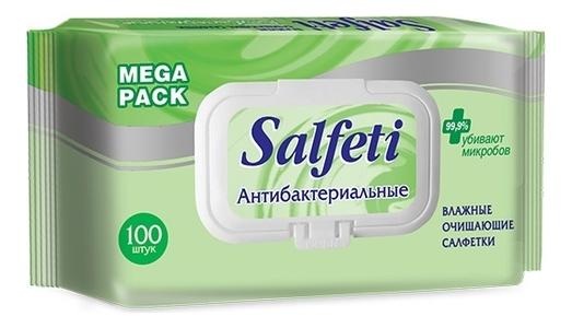 Влажные очищающие салфетки Антибактериальные 100шт очищающие кремы